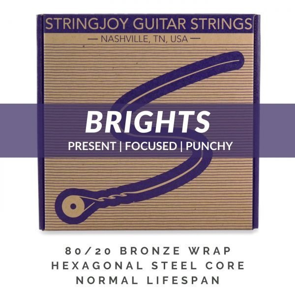 Stringjoy Brights | Acoustic Subscriptions