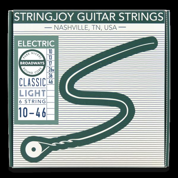 Stringjoy Broadways   Classic Light Gauge Packaging