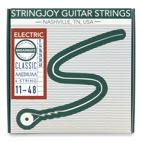 Stringjoy Broadways | Classic Medium Gauge Packaging