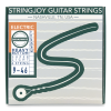 Stringjoy Broadways | Heavy Bottom Super Light Gauge (9-46) Pure Nickel Electric Guitar Strings