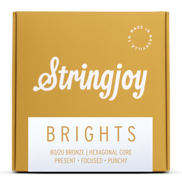 Brights   80/20 Bronze Acoustic Guitar Strings