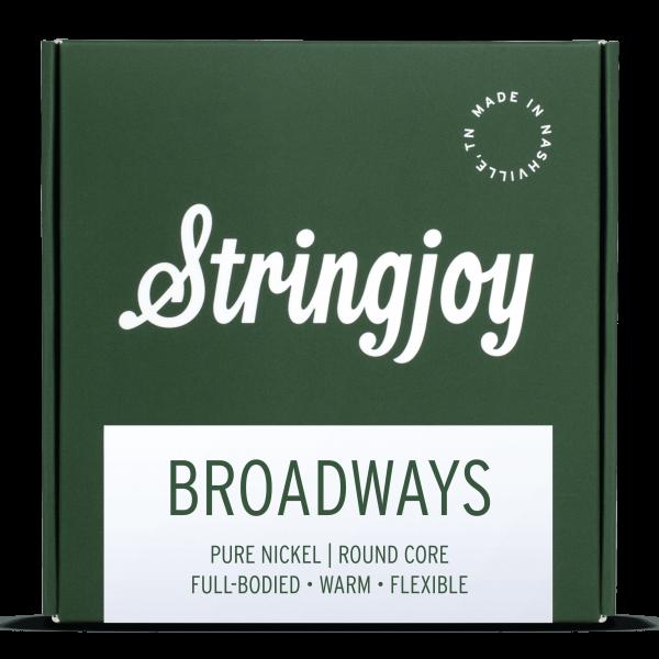 Broadways   Pure Nickel Electric Guitar Strings