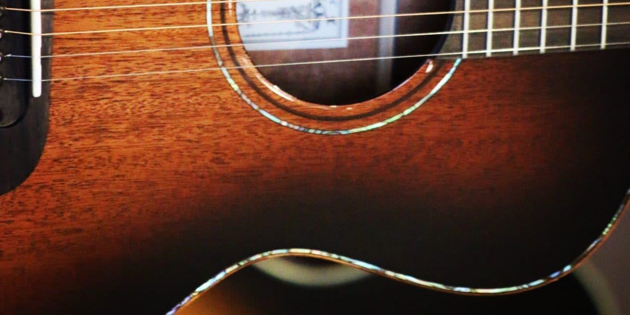 Parlor Acoustic Guitar